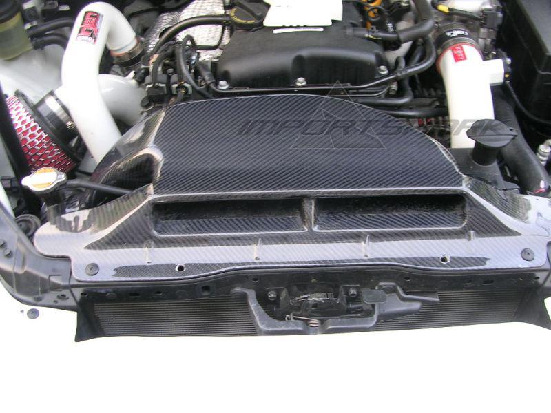 Custom Ram Air Ducts : Carbon fiber air duct importshark